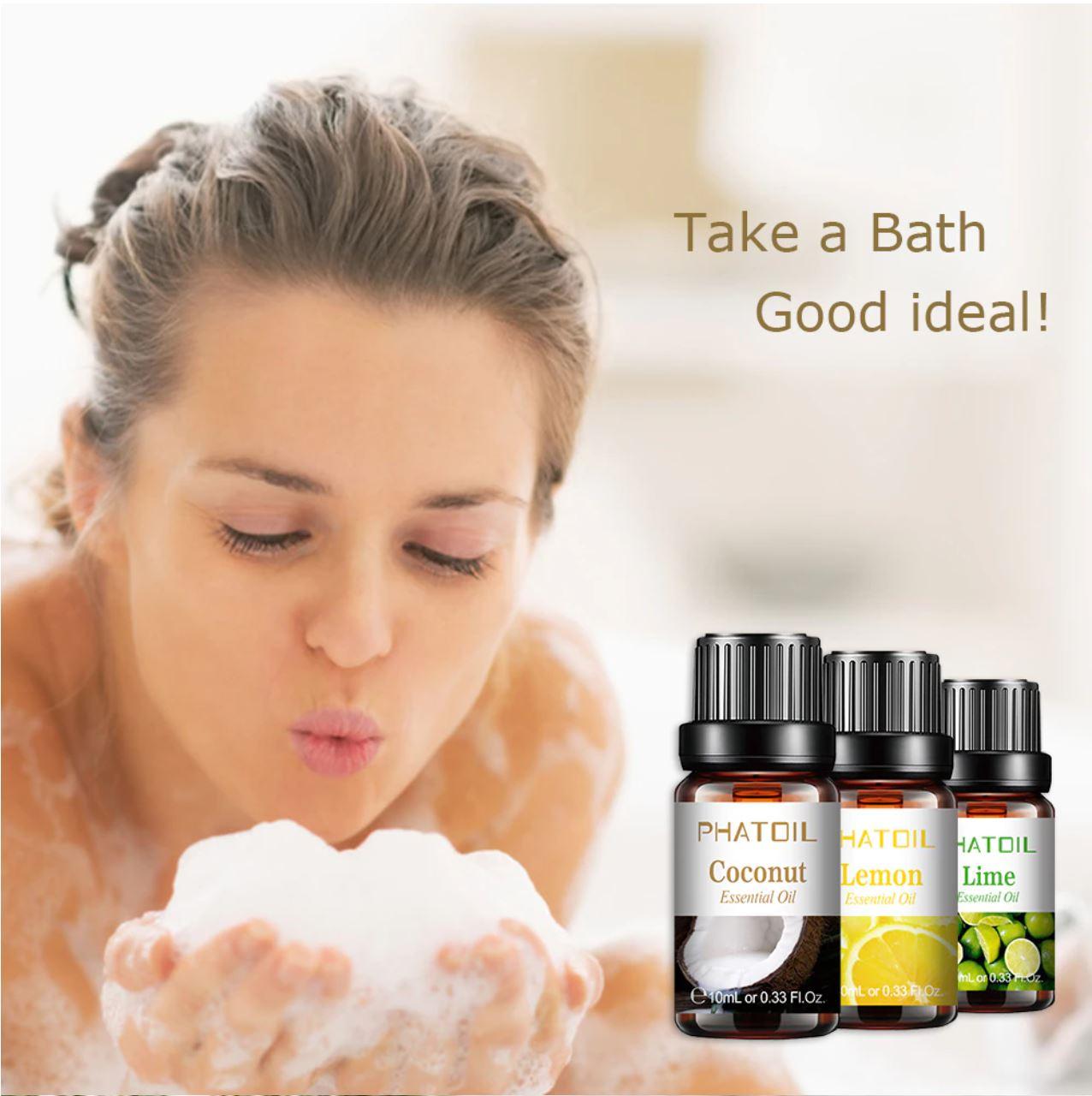 Promocje Aliexpress w dziale Beauty - olejki eteryczne do kąpieli