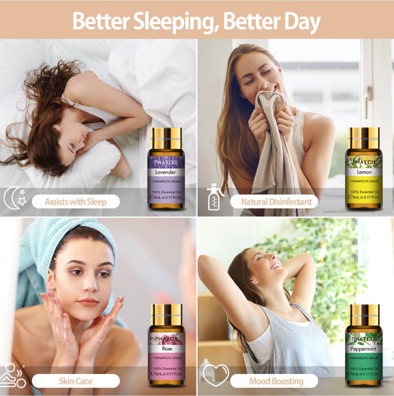 Promocje Aliexpress w dziale Beauty - olejki eteryczne