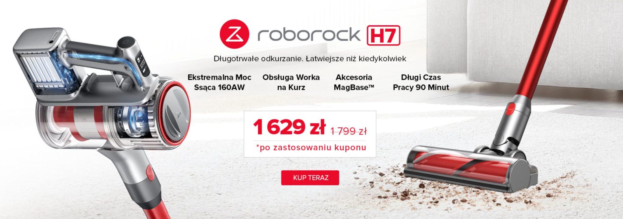 Roborock H7 w promocji