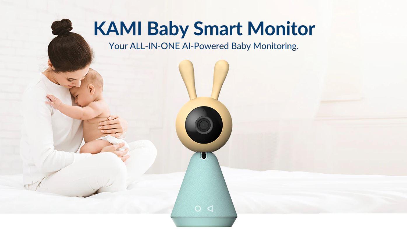 Smart Dom z Aliexpress - kamery do monitoringu w letniej wyprzedaży - YI Kami Baby Smart Monitor - wirtualna niania