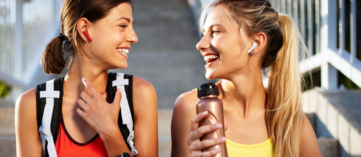 Sprzęt audio z Aliexpress - słuchawki HUAWEI FreeBuds 4i