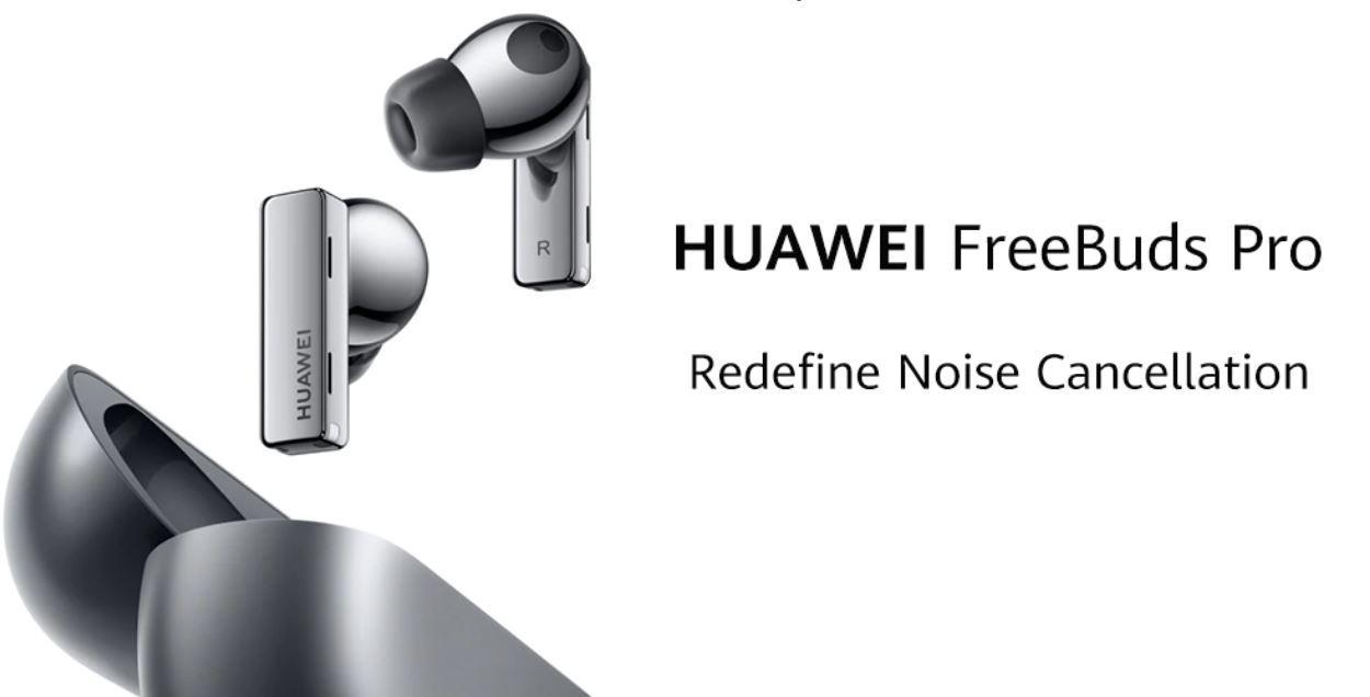 Sprzęt audio z Aliexpress - słuchawki HUAWEI FreeBuds Pro
