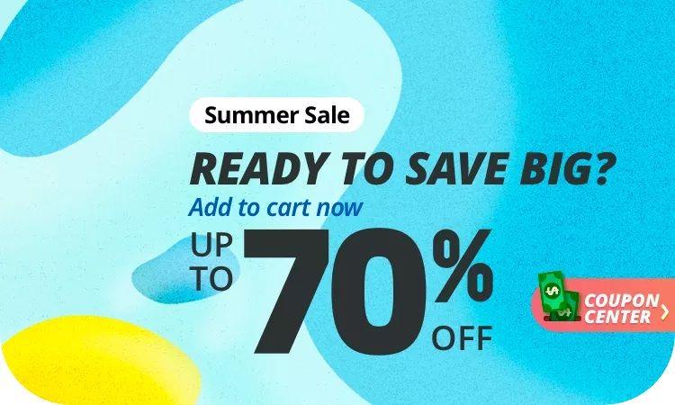 Summer Sale Aliexpress 2021