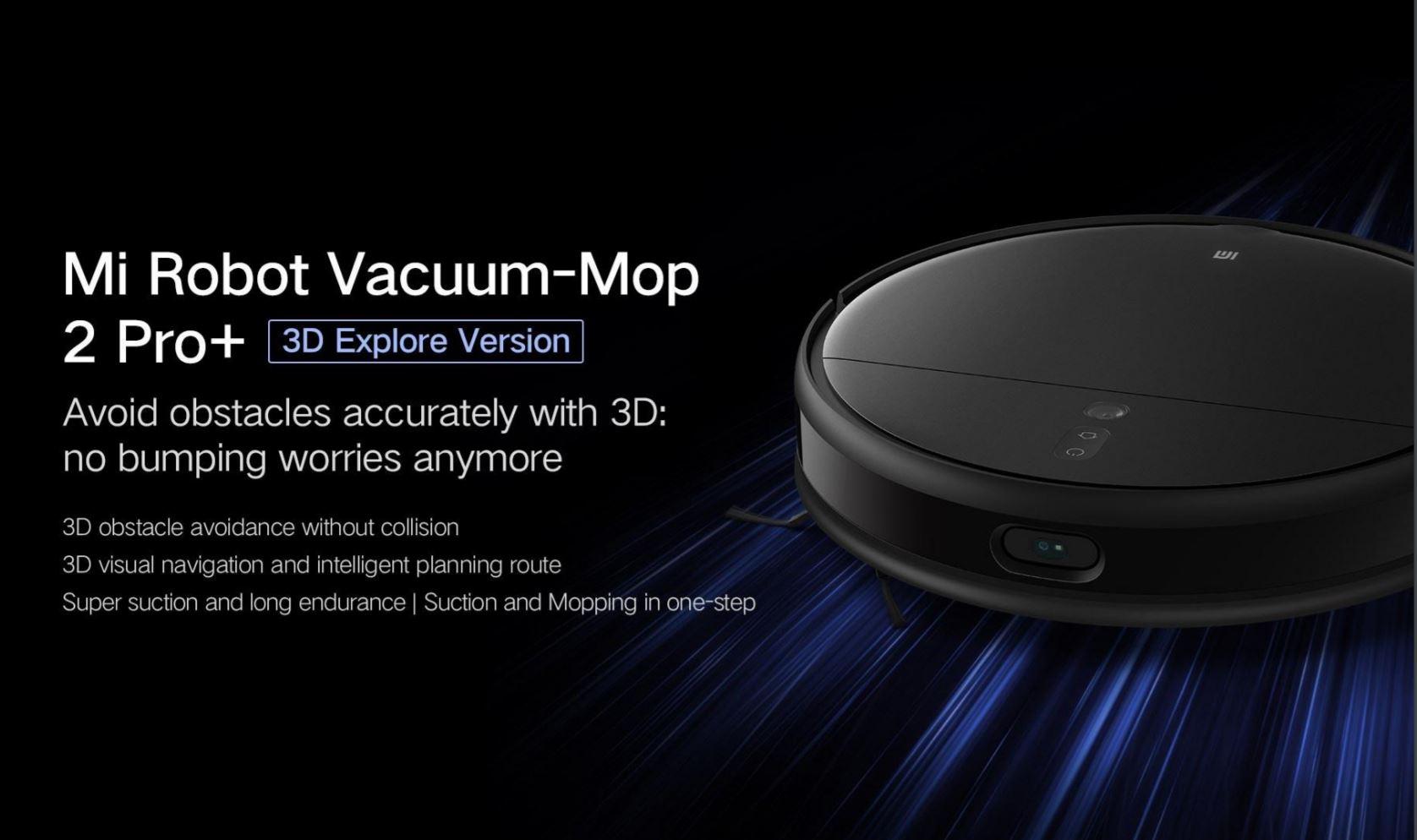 Xiaomi Mi Robot Vacuum Mop 2 Pro + - 3D Version