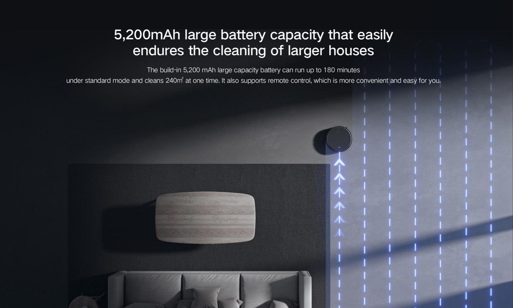 Xiaomi Mi Robot Vacuum Mop 2 Pro + w rewelacyjnej promocji na Aliexpress - pojemna bateria
