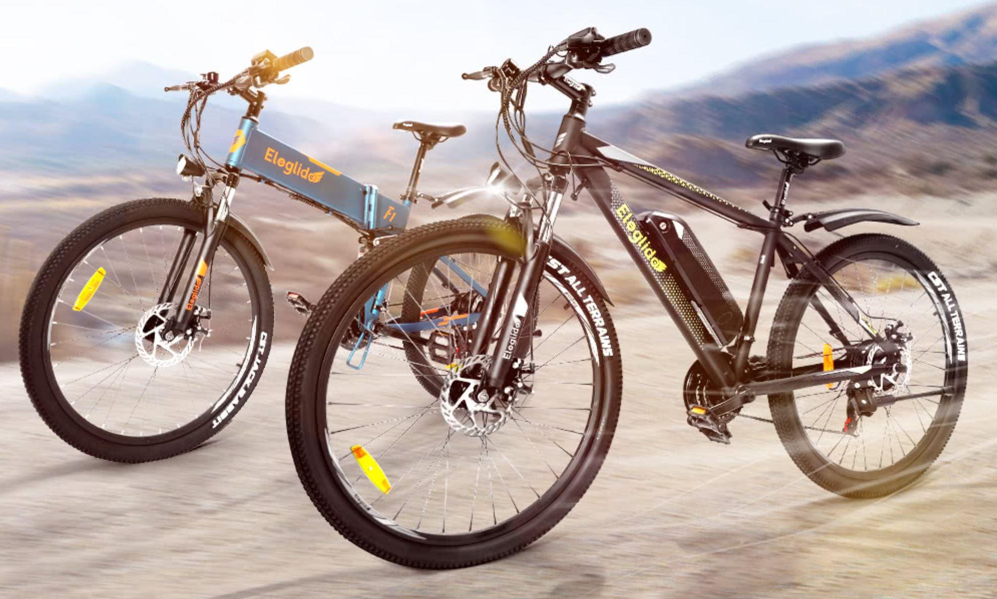 Elektryczne rowery górskie Eleglide o zasięgu do 100 km