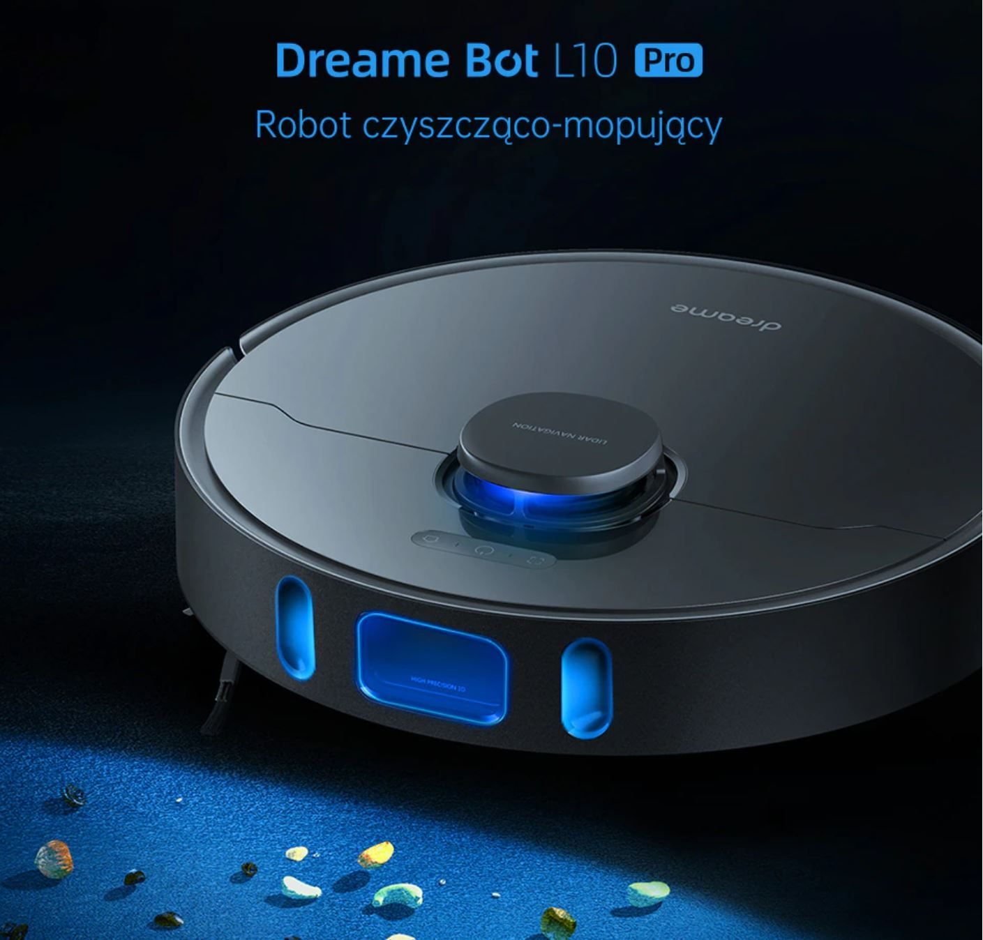 Najpopularniejsze roboty sprzątające z Aliexpress - Dreame Bot L10 Pro