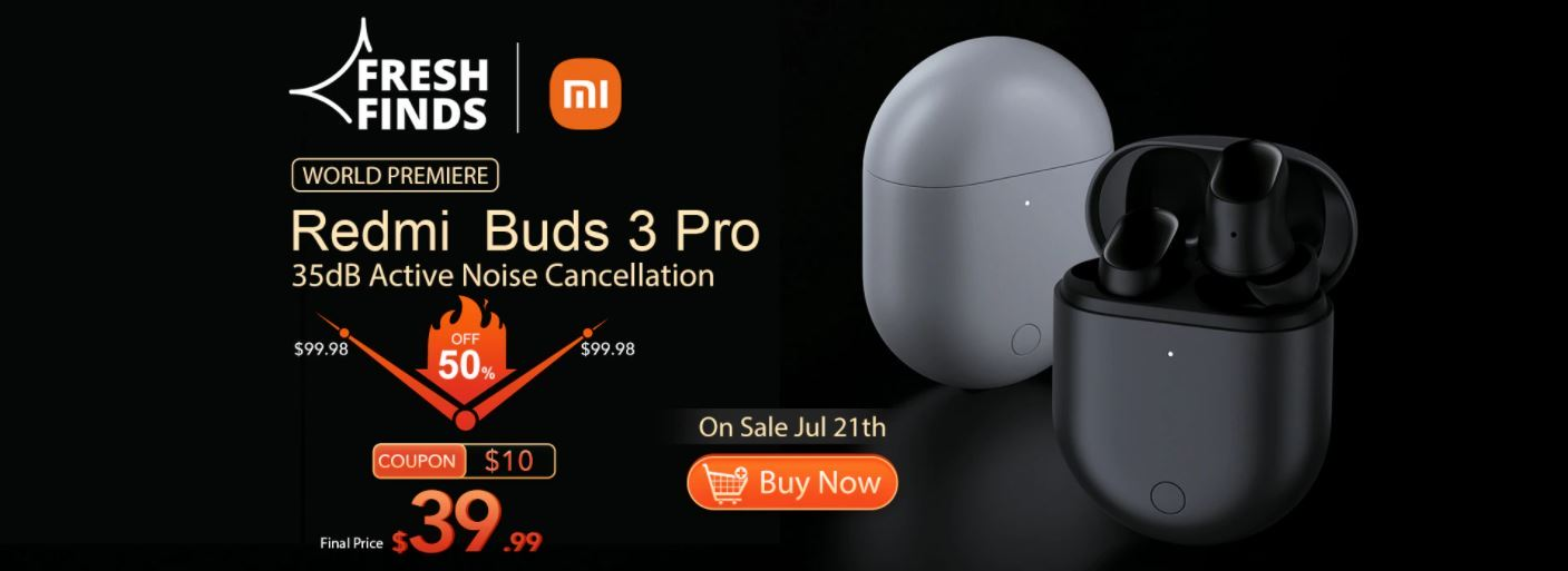 Premiera słuchawek Bluetooth Redmi Buds 3 Pro