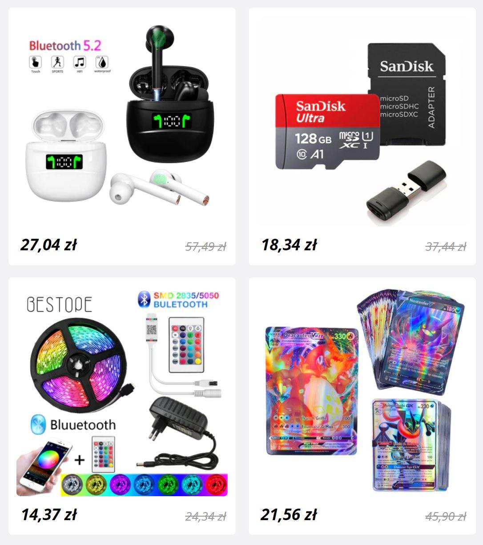 Promocja dla nowych użytkowników Aliexpress - obniżone ceny dla nowych