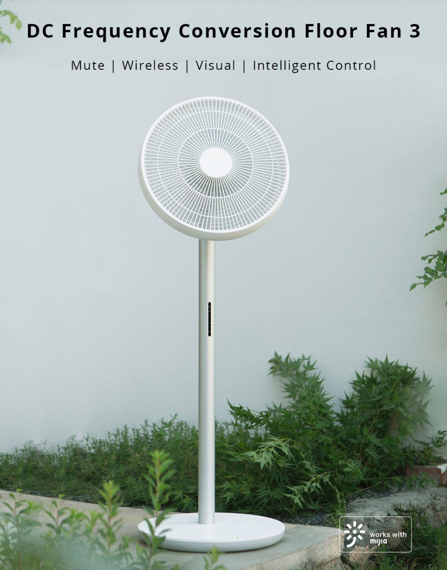 Xiaomi Smartmi Smart Floor Fan 3 - wentylator od Xiaomi