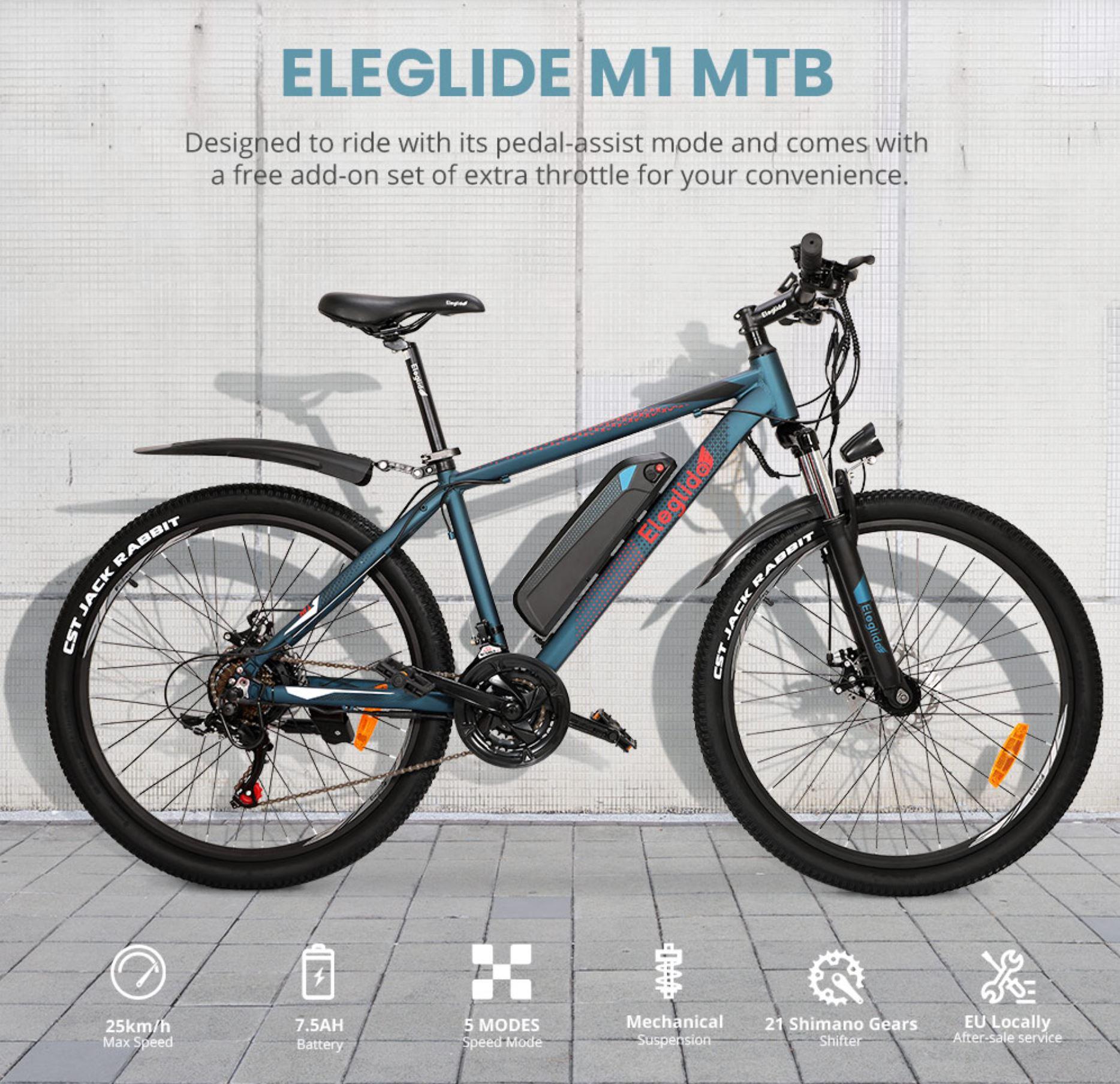 rower elektryczny górski - Eleglide M1 MTB