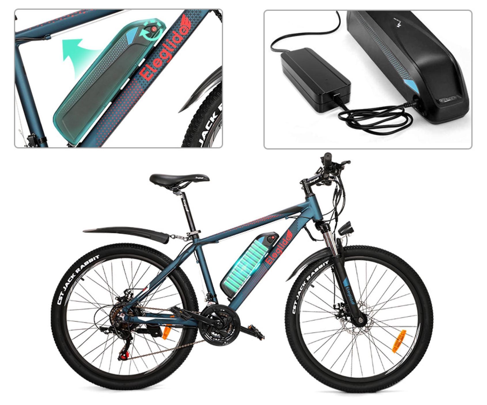 rower elektryczny górski - Eleglide M1 Plus MTB - odpinana bateria