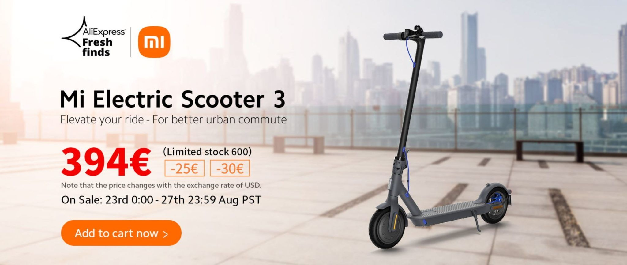 Back to school z AliExpress - premiera hulajnogi elektrycznej Xiaomi Mi Electric Scooter 3