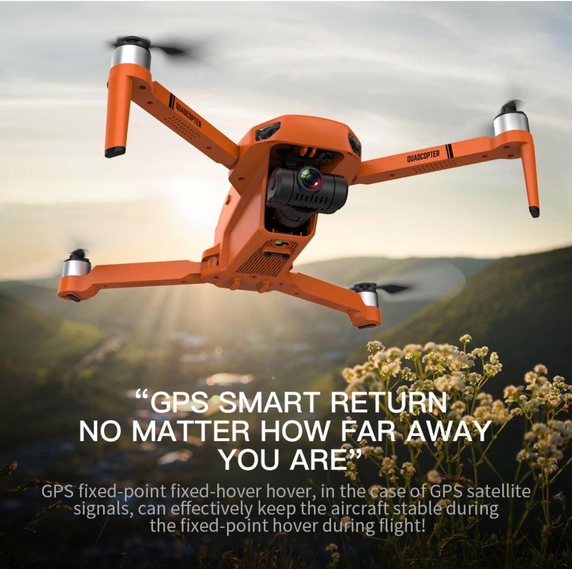 Drony z AliExpress - XKJ KF102 - dron z GPS