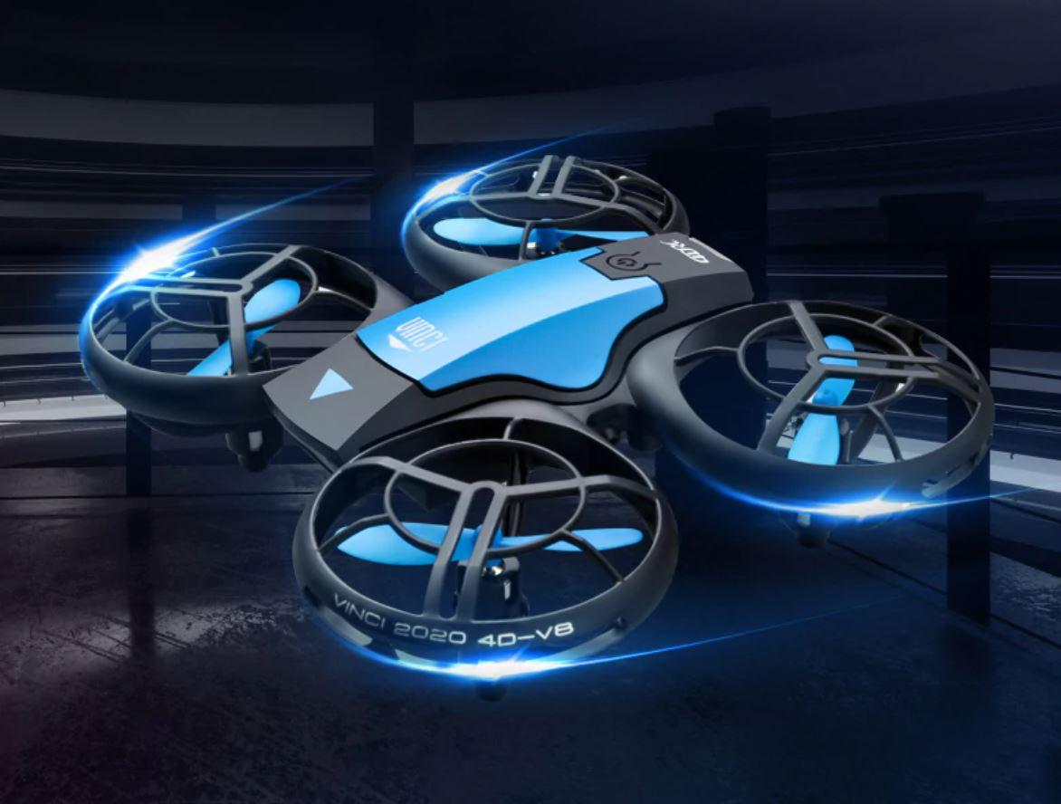 Drony z AliExpress - dron V8 - mini drone