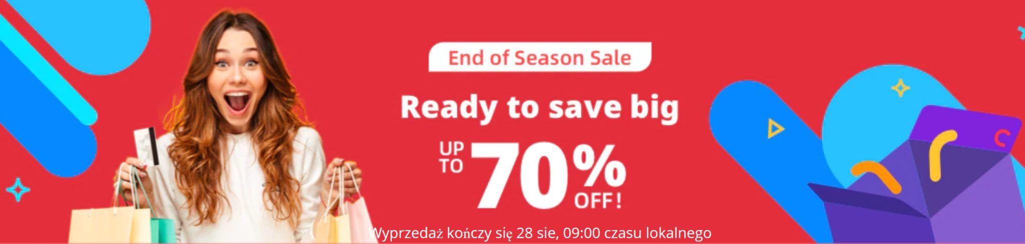 End of Season Sale - promocja AliExpress
