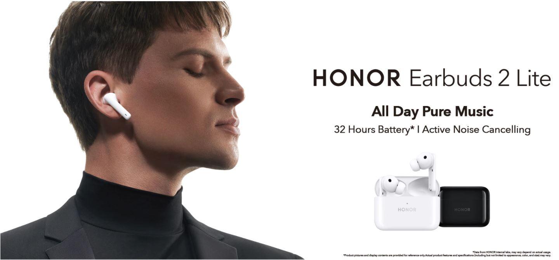 Głośniki i słuchawki Bluetooth z AliExpress - super oferty w promocji na koniec wakacji - HONOR Earbuds 2 Lite
