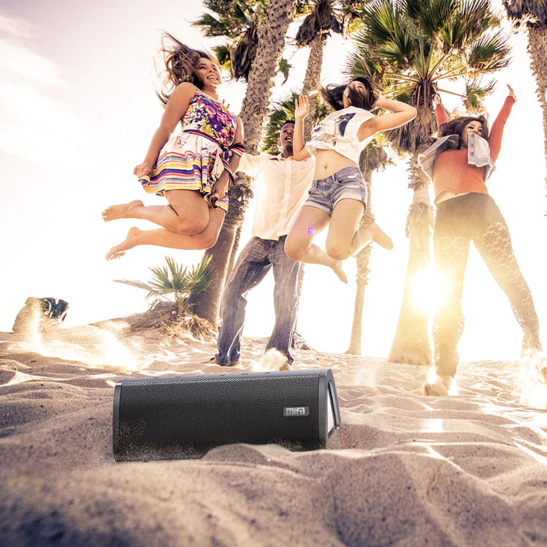 Głośniki i słuchawki Bluetooth z AliExpress - super oferty w promocji na koniec wakacji - mifa A10+ Portable bluetooth speaker