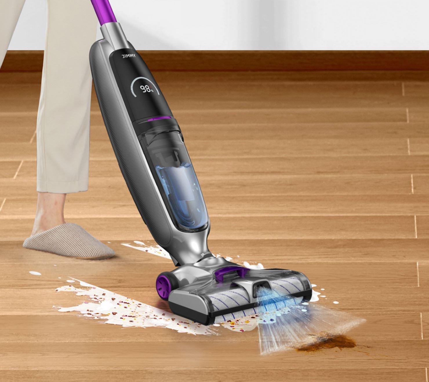 JIMMY PowerWash HW8 PRO - odkurzacz myjący podłogi na mokro