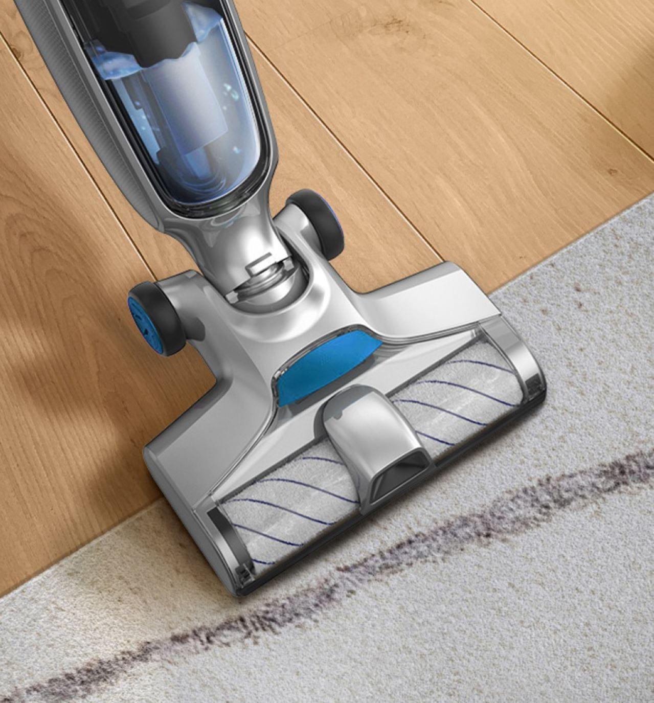 JIMMY PowerWash HW8 - odkurzanie dywanu