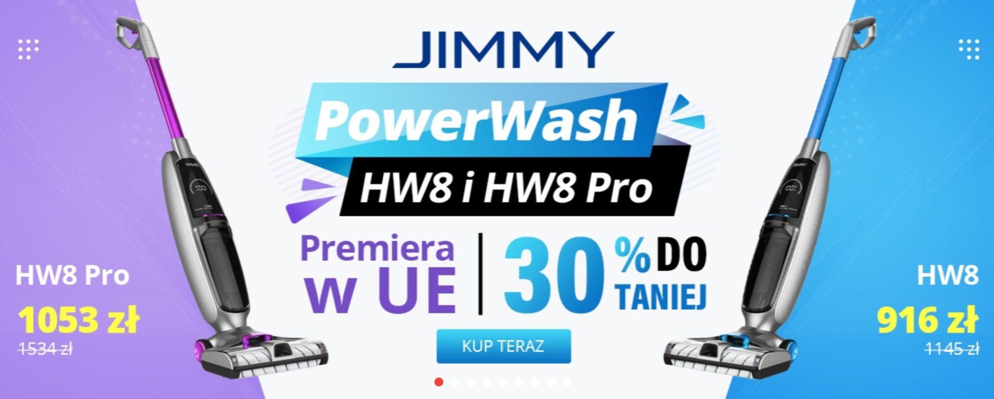 Jimmy HW 8 i HW8 Pro z wysyłką z polski - kody rabatowe