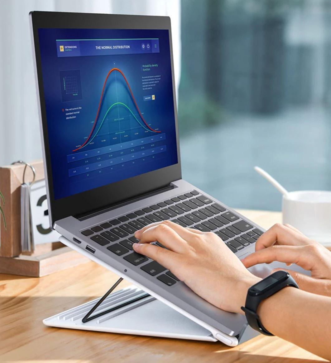 Koniec wakacji - gadżety z AliExpress, które ułatwią nam powrót do szkoły lub pracy - podstawka do laptopa
