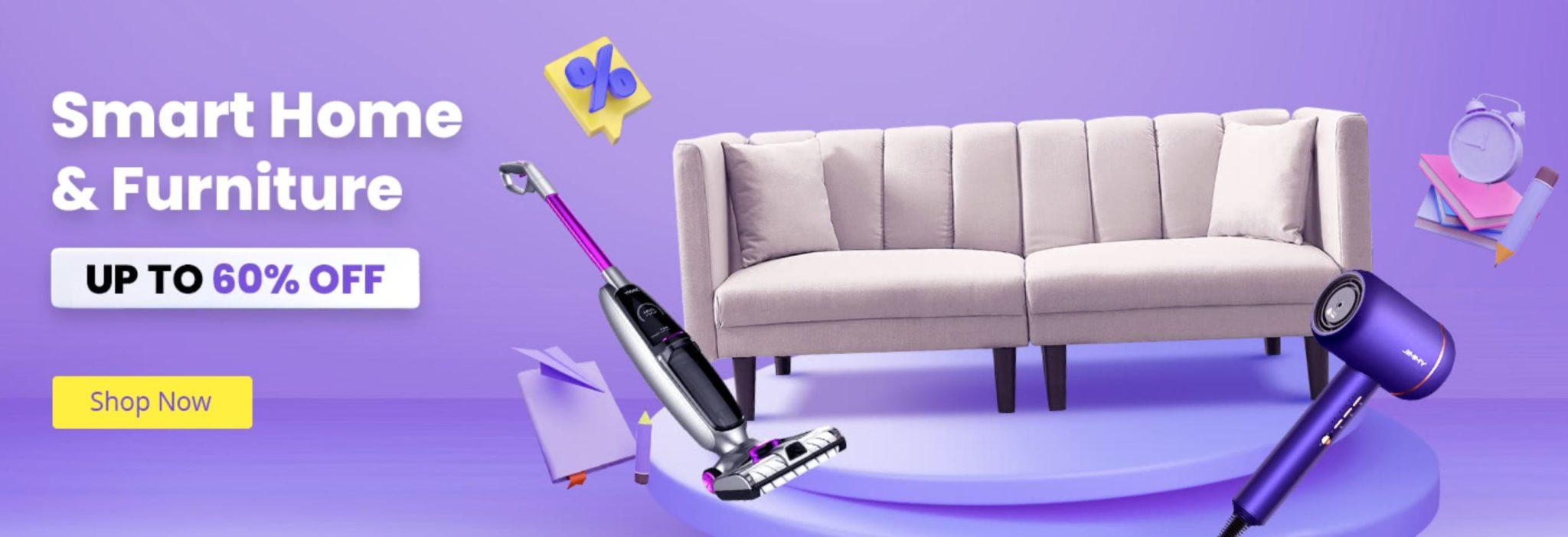 Powrót do szkoły z Geekbuying - promocja w dziale smart home i furniture