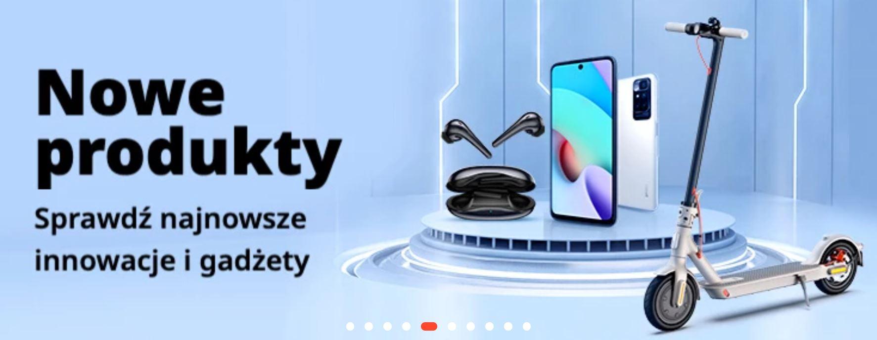 Promocja Aliexpress - nowe produkty