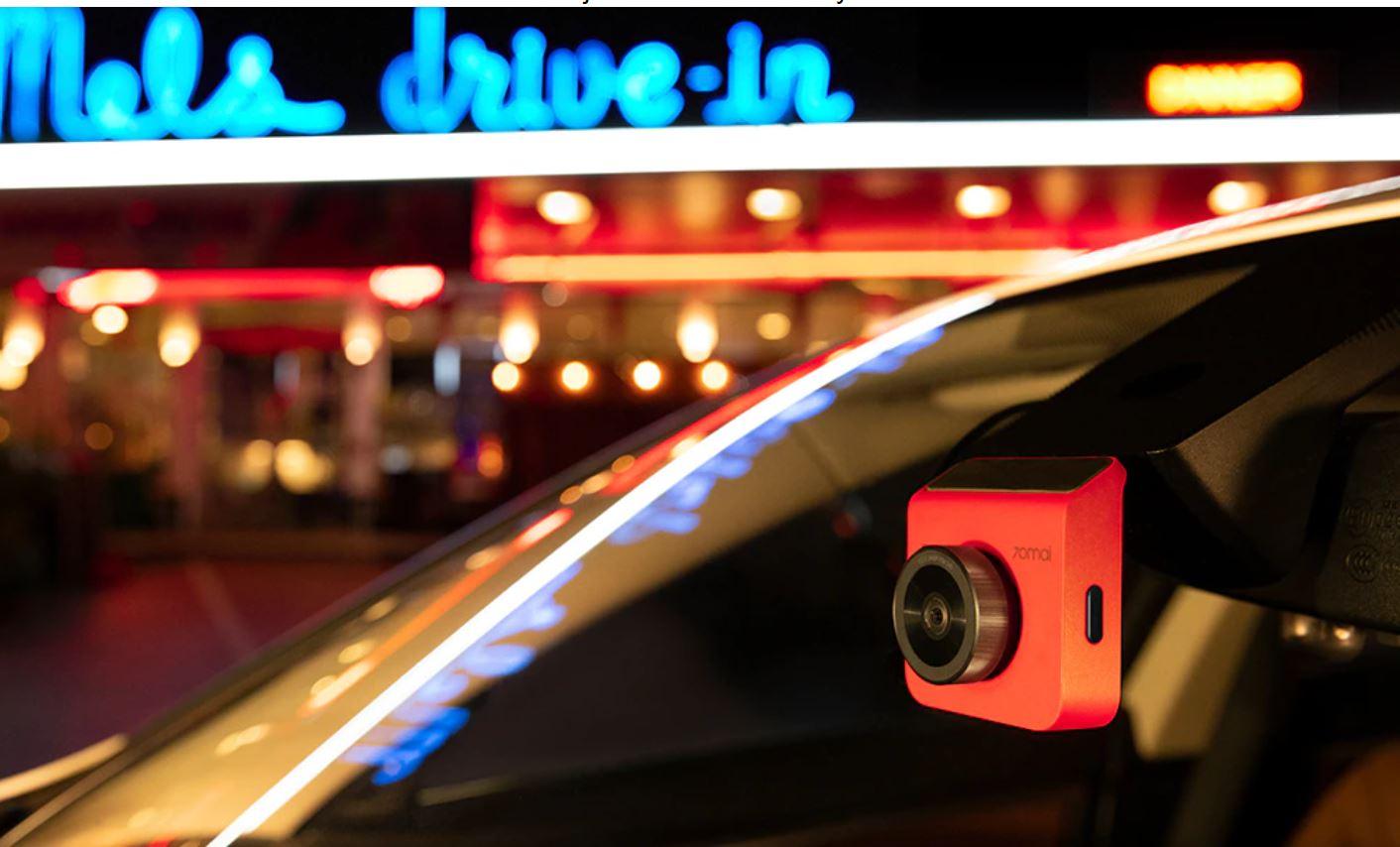 artykuły motoryzacyjne - promocja AliExpress - kamera samochodowa 70mai Dash Cam A400