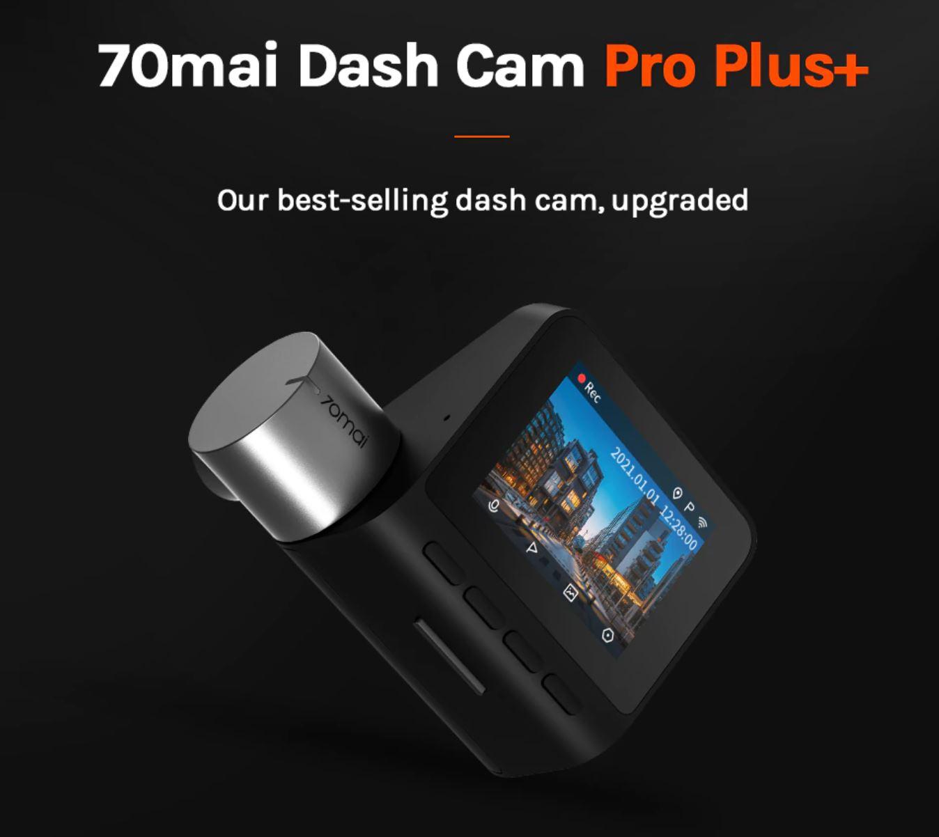artykuły motoryzacyjne - promocja AliExpress - kamera samochodowa 70mai Dash Cam Pro Plus+