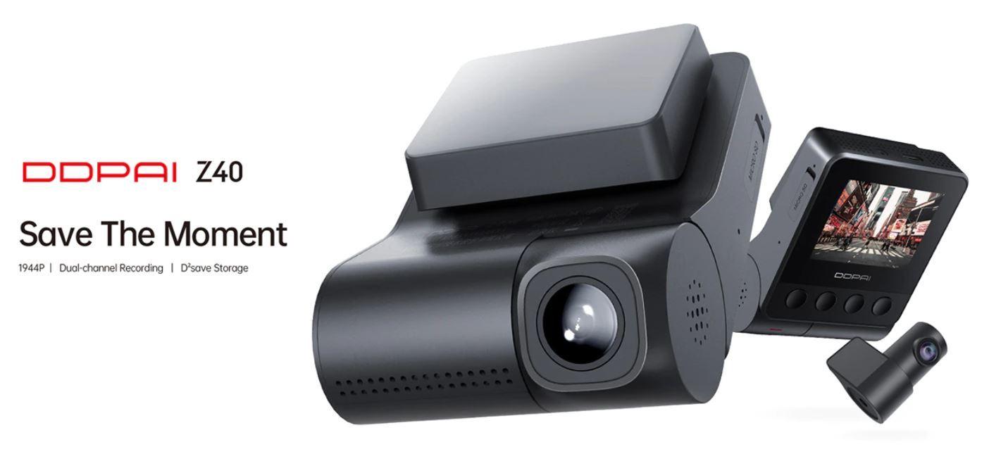 artykuły motoryzacyjne - promocja AliExpress - kamera samochodowa DDPAI Z40