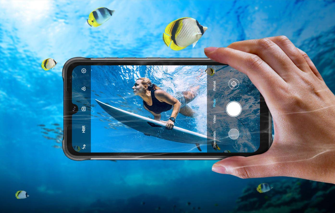 nowe produkty Aliexpress - Umidigi Bison Pro - nowy smartfon rugged - robienie zdjęć pod wodą