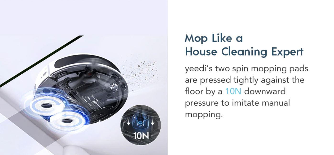 nowe produkty Aliexpress - mopowanie yeedi ultimate robot mop