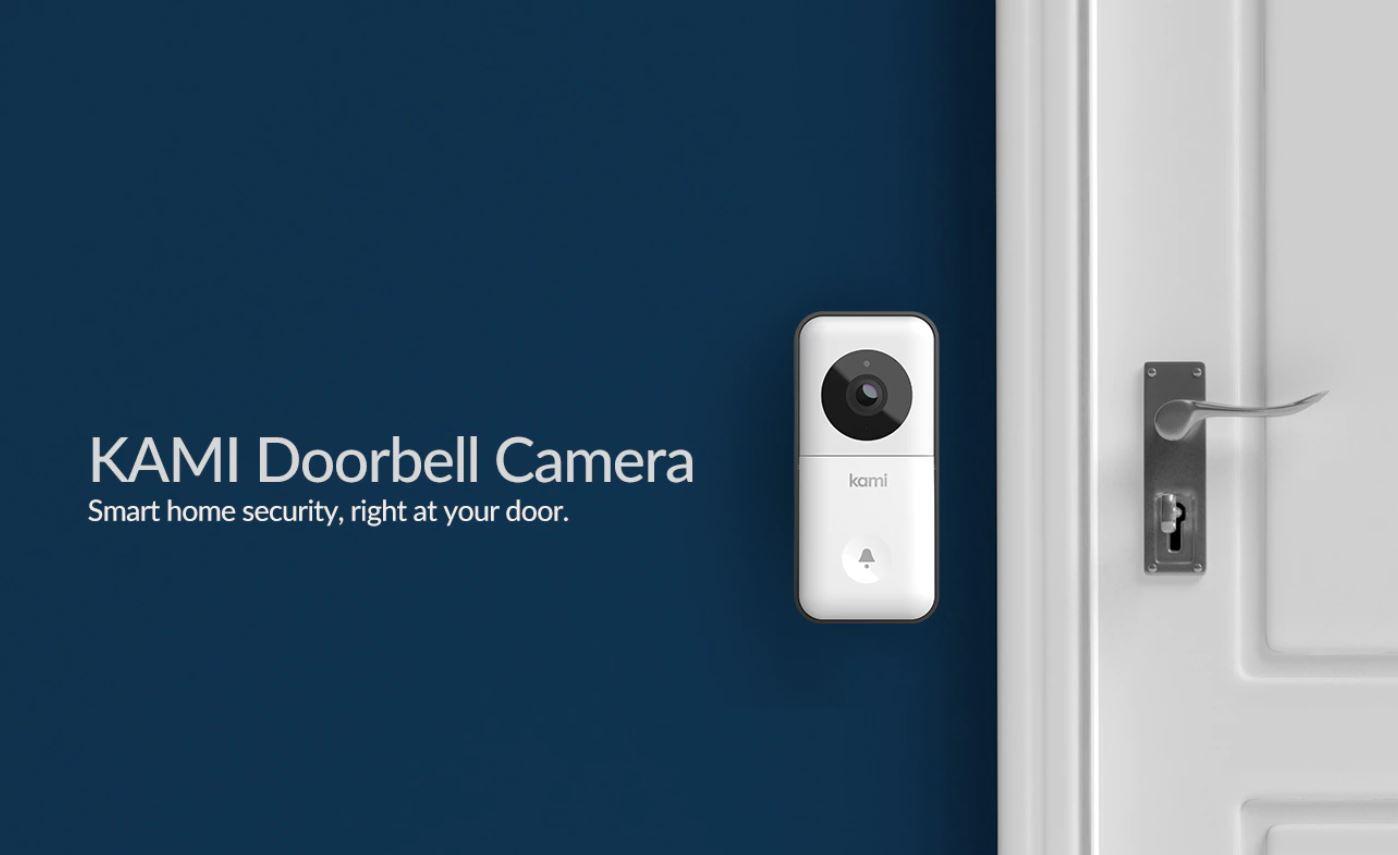 promnocja kamer IP z Aliexpress - KAMI Doorbell Camera - kamera do monitoringu drzwi wejściowych