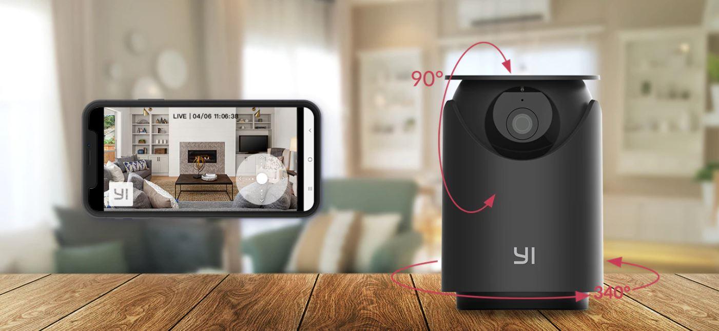 promnocja kamer IP z Aliexpress - YI Dome U Pro