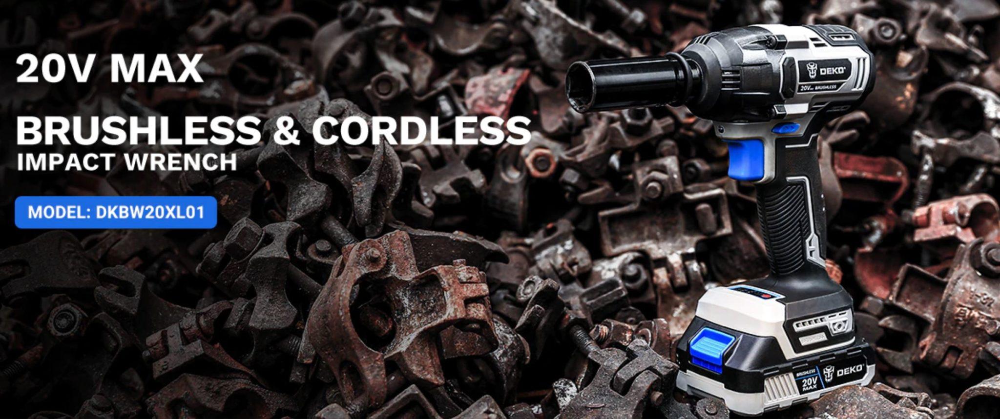 romocja ALiExpress - narzędzia i majsterkowanie - klucz udarowy DEKO