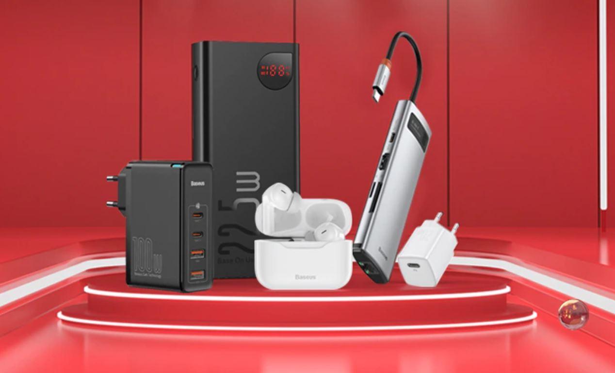 promocja elektroniki Baseus