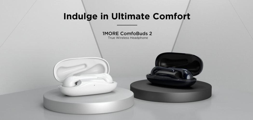słuchawki Bluetooth z Aliexpress - 1MORE ComfoBuds 2
