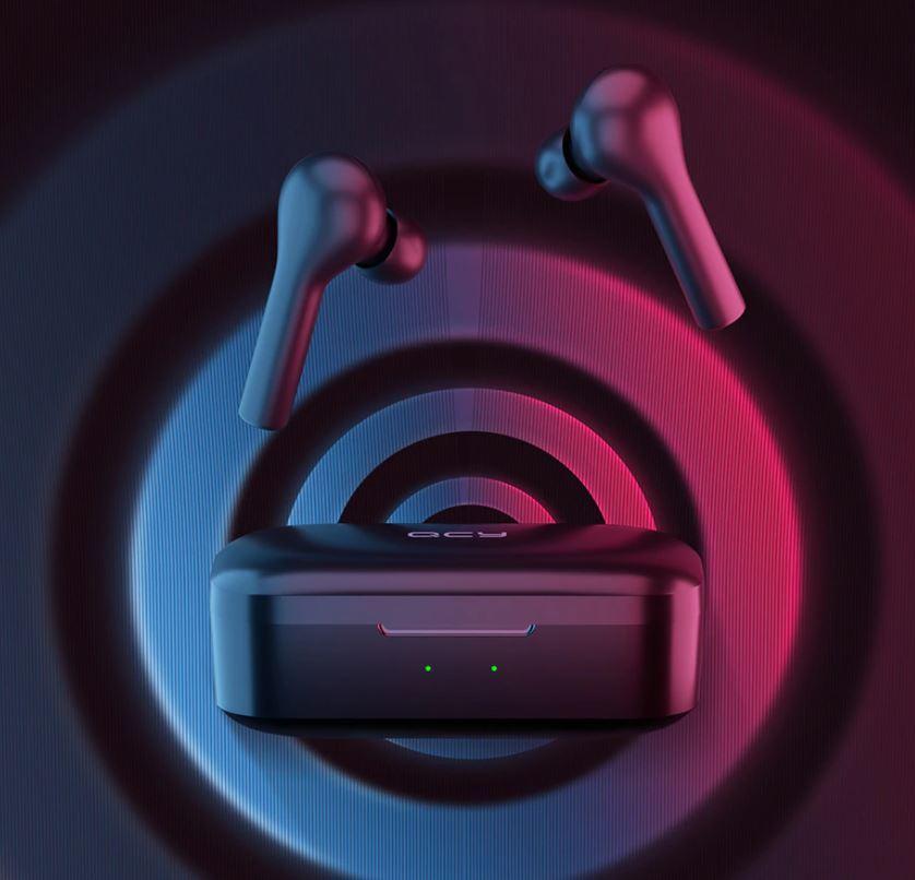 słuchawki Bluetooth z Aliexpress - QCY T5