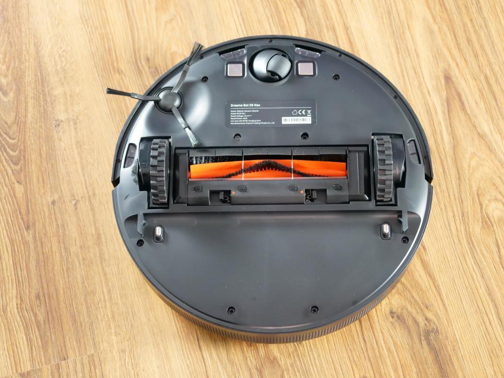 Dreame Bot D9 Max - recenzja robota sprzątającego o zwiększonej mocy - spód robota