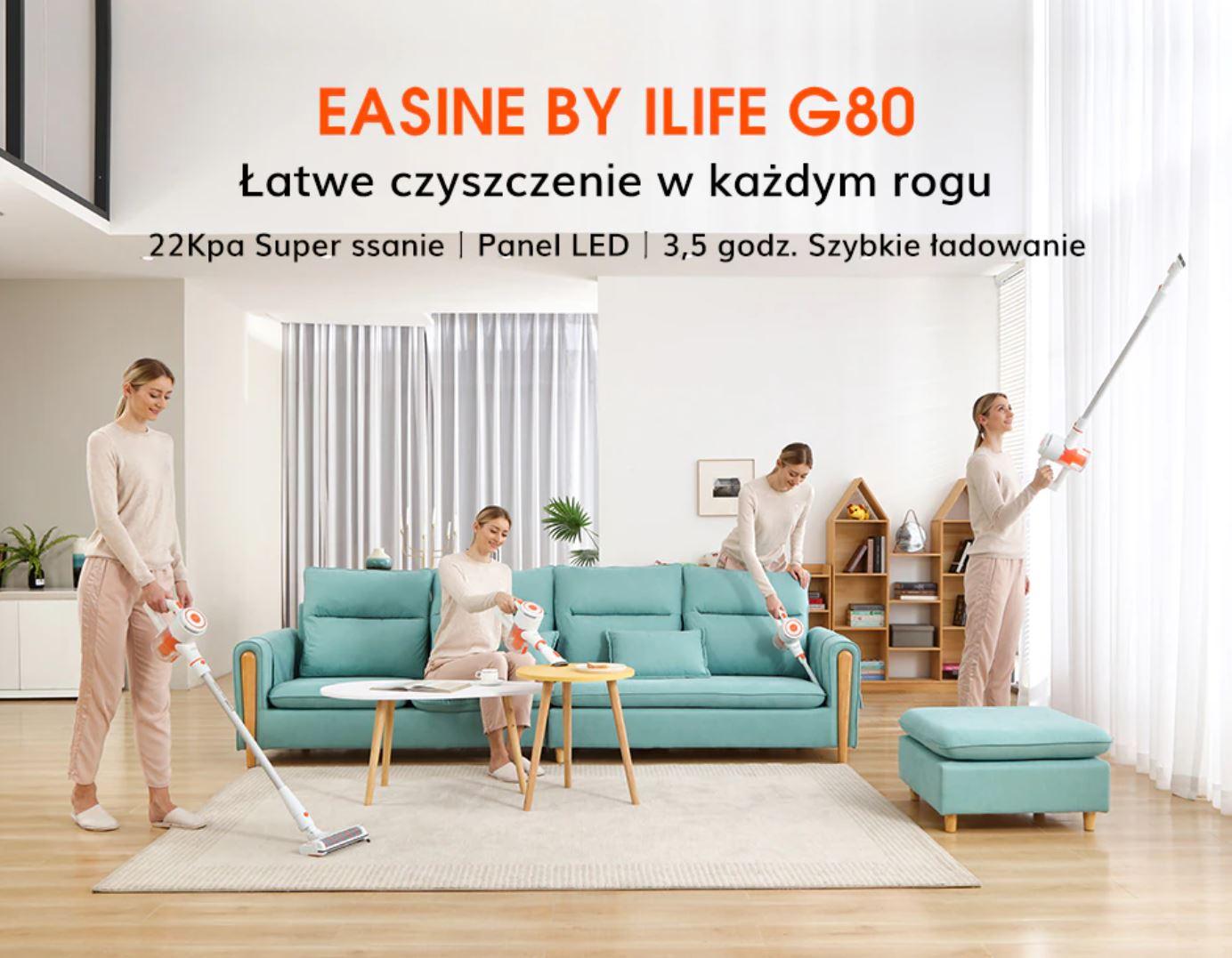 Easine by iLife G80 - odkurzacz pionowy