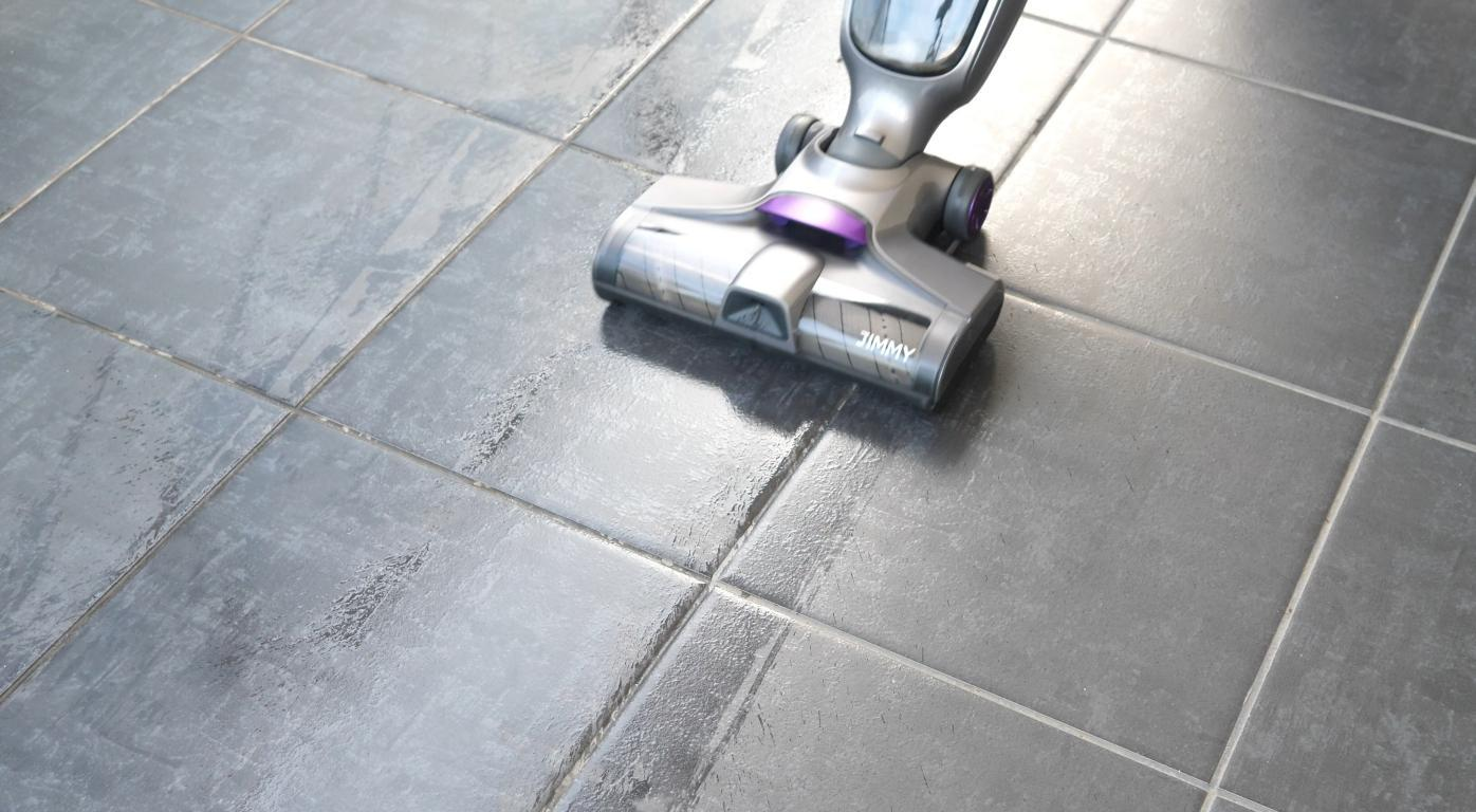Jimmy HW8 Pro - zmywanie podłogi