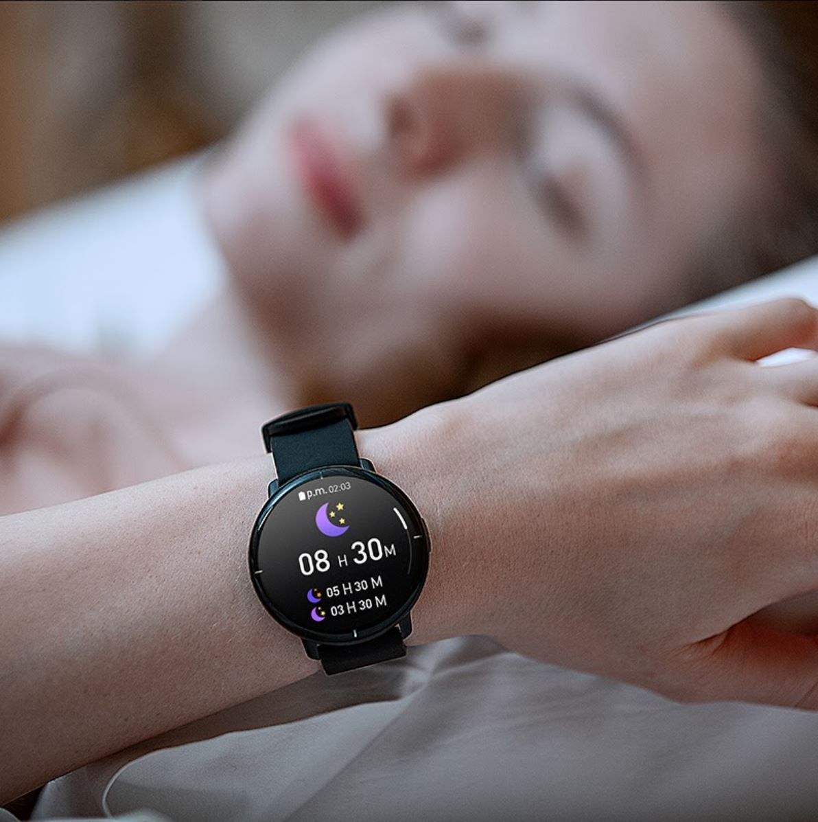 Mibro Lite - premiera smartwatcha - monitorowanie snu