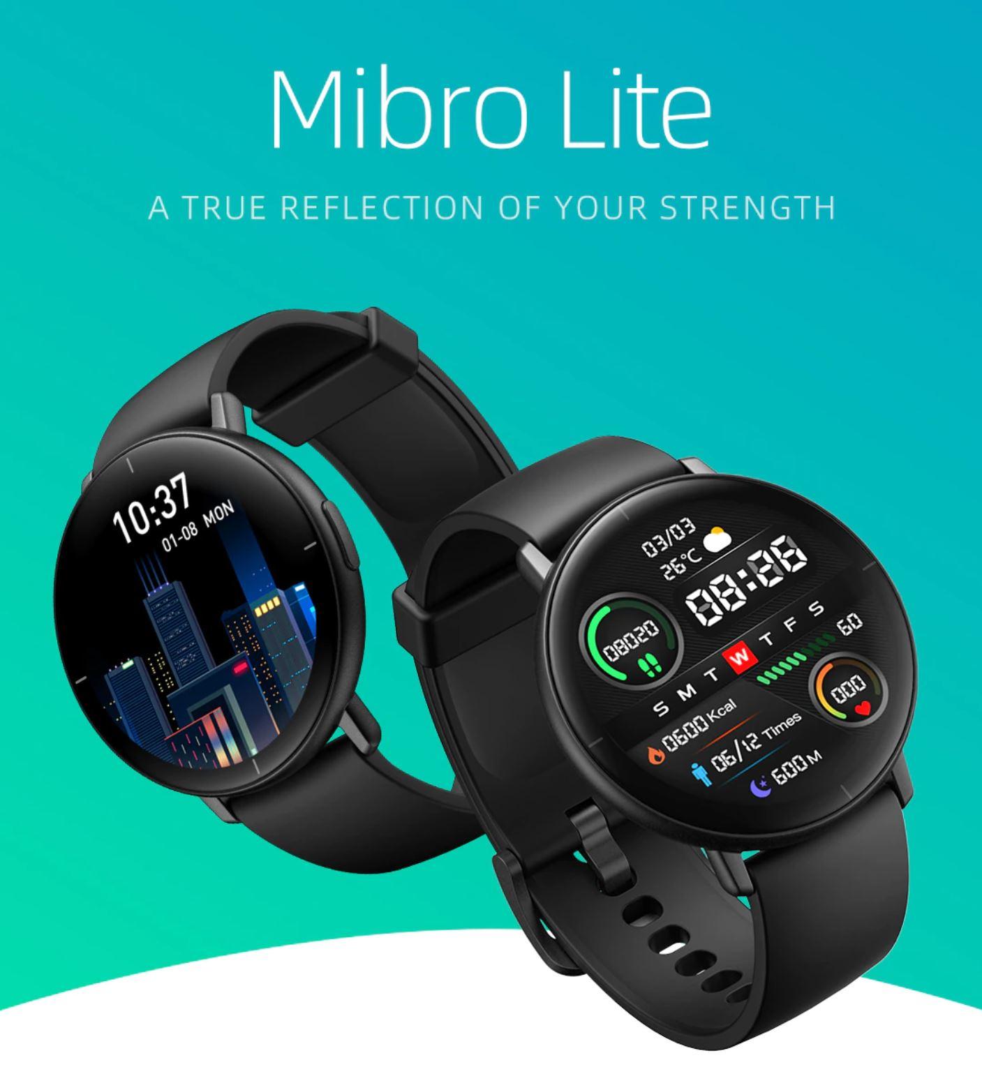 Mibro Lite - premiera smartwatcha