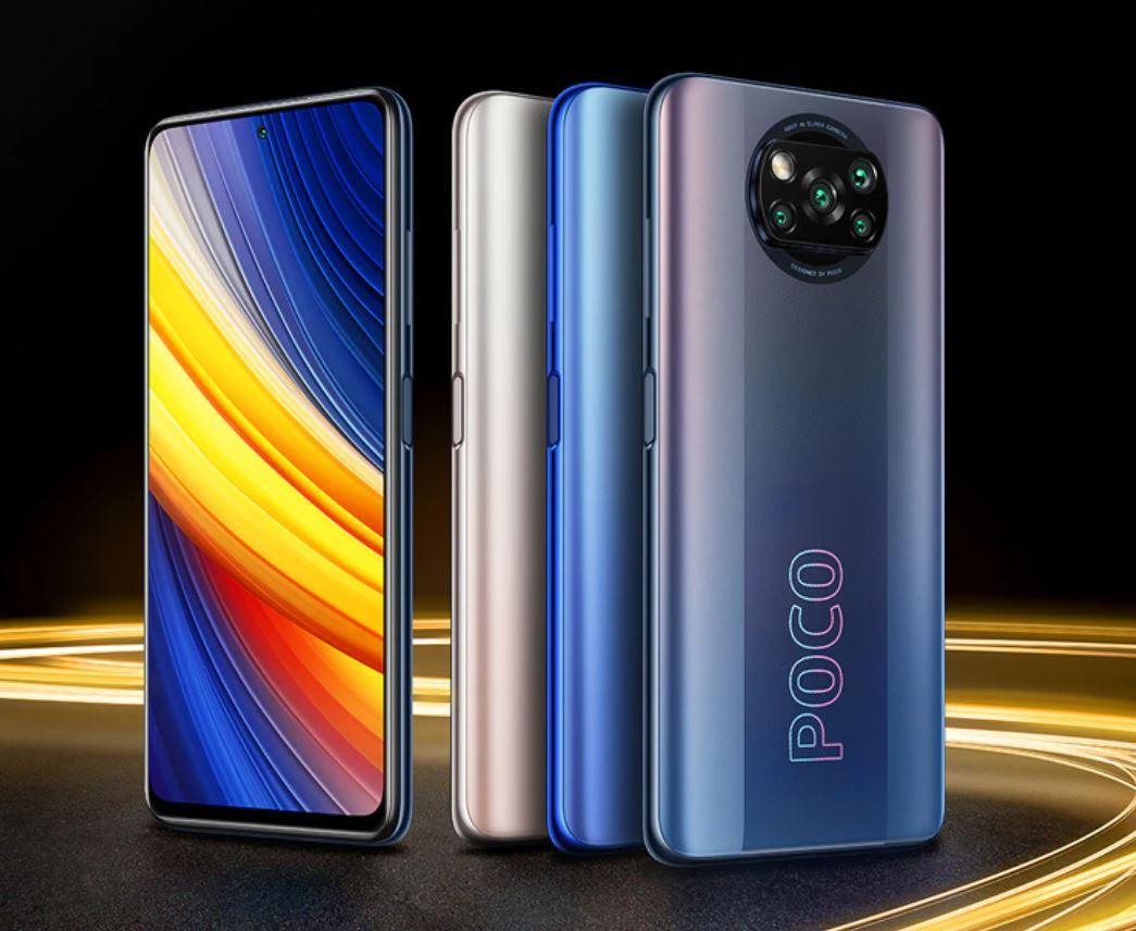 Najpopularniejsze smartfony do 1000 zł w ofercie RTV Euro AGD (TOP 10) - POCO X3 Pro