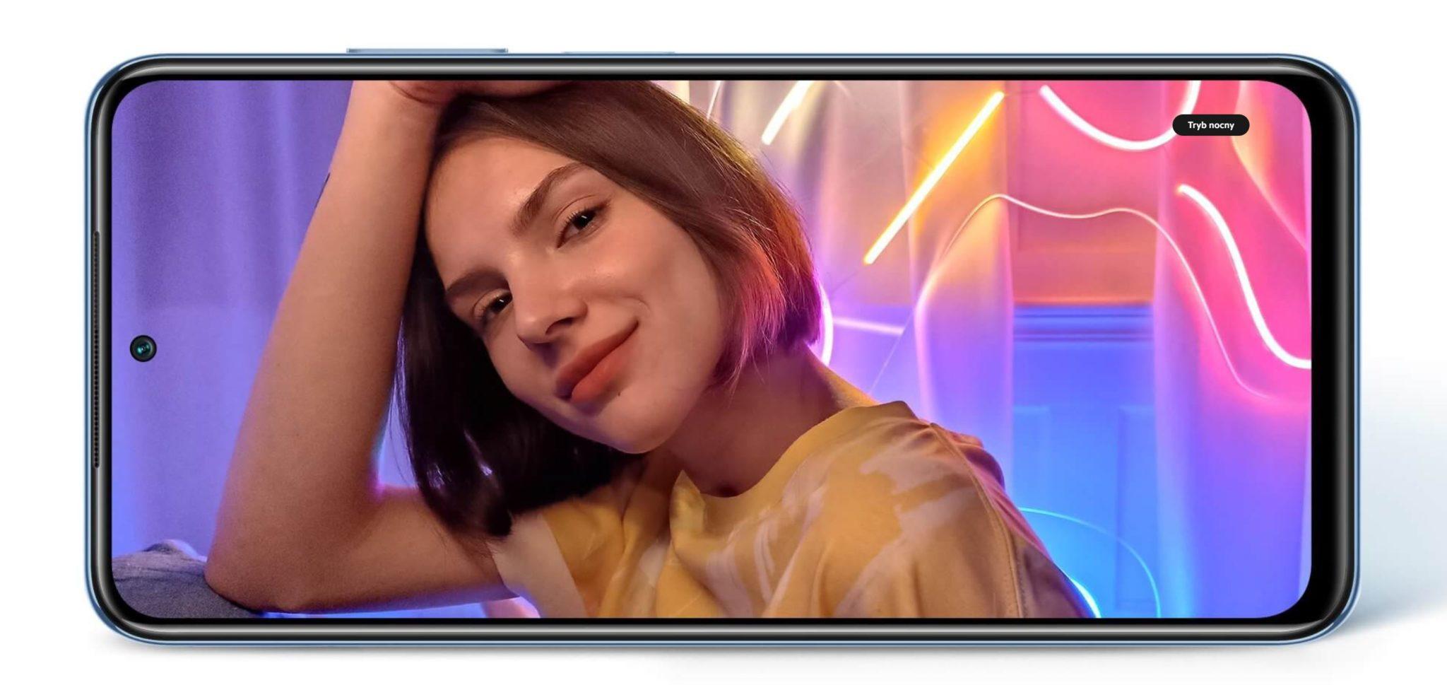 Najpopularniejsze smartfony do 1000 zł w ofercie RTV Euro AGD (TOP 10) - Xiaomi Redmi Note 10S - ekran, zdjęcia nocą