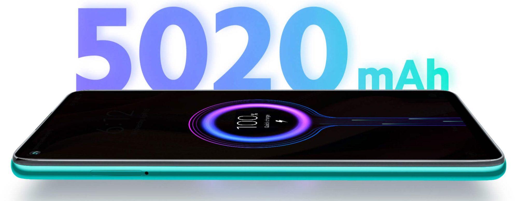 Najpopularniejsze smartfony do 1000 zł w ofercie RTV Euro AGD (TOP 10) - Xiaomi Redmi Note 9 - bateria