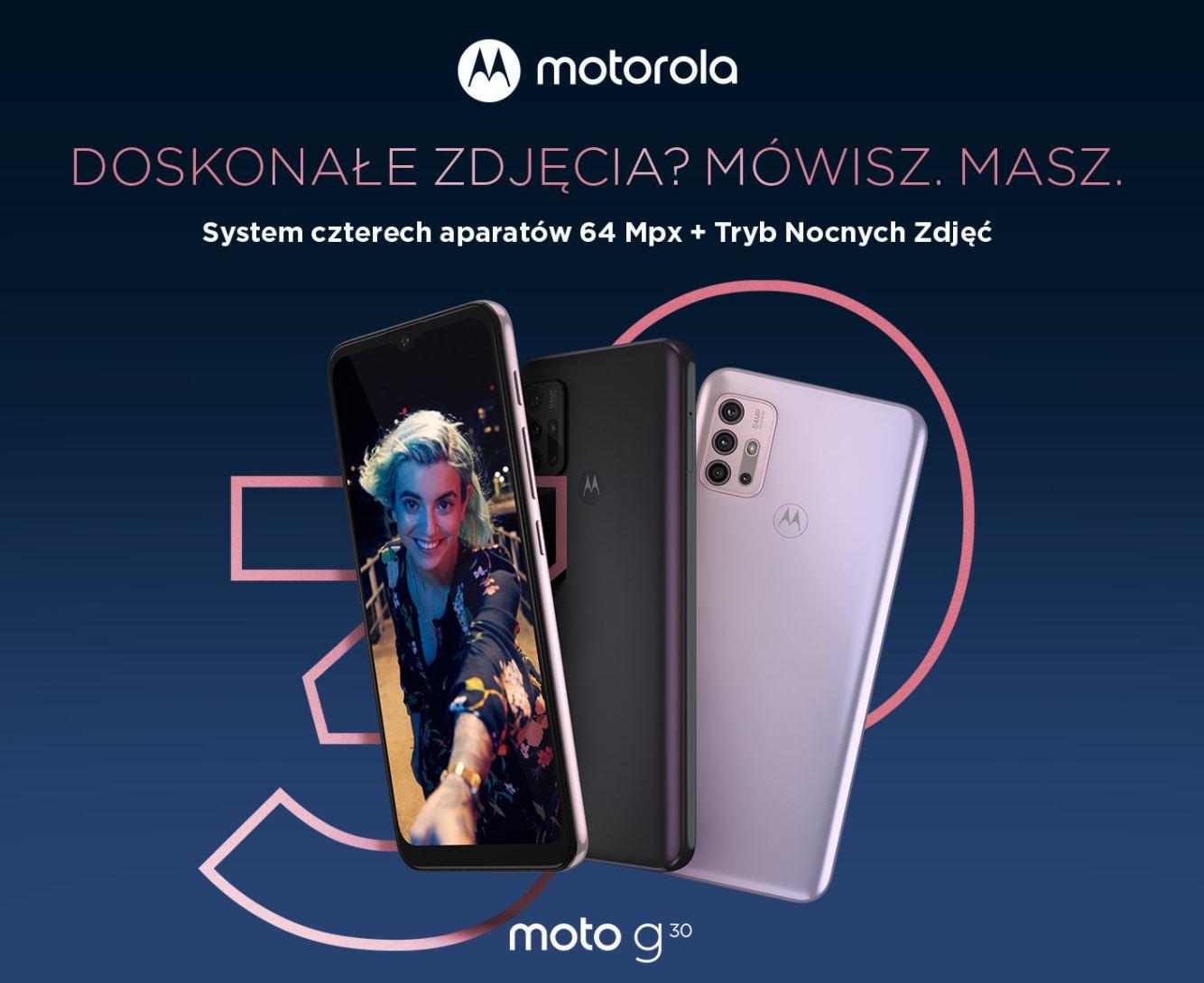 Najpopularniejsze smartfony do 1000 zł w ofercie RTV Euro AGD (TOP 10) - motorola moto g30