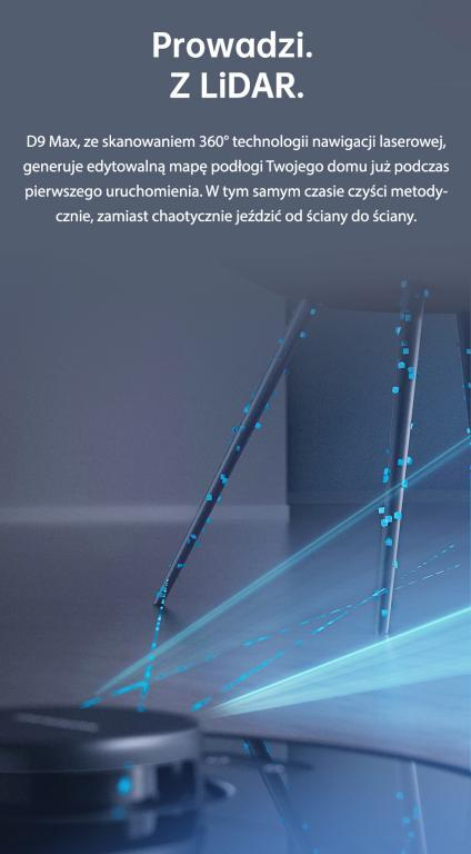 Nowy robot odkurzająco-mopujący Dreame Bot D9 Max już w sprzedaży - nawigacja laserowa