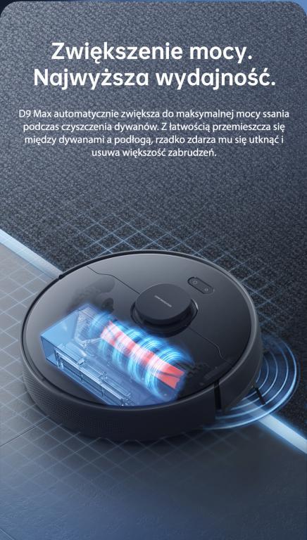 Nowy robot odkurzająco-mopujący Dreame Bot D9 Max już w sprzedaży - większa moc